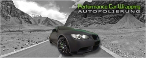 Autofolierung Performance Car Wrapping
